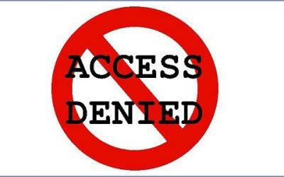 دسترسی به پیشخوان فقط به مدیران